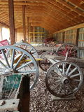 Парк наследия колес телеги Стоковая Фотография RF