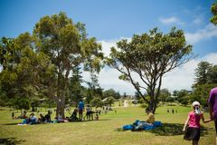 Парк на заливе Watsons стоковые изображения