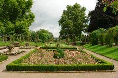 Парк на замке Стоковое фото RF