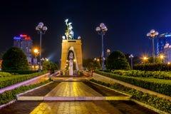 Парк на ноче Стоковое Изображение RF