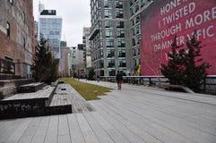 Парк новое Jork высокой ветки Стоковые Фотографии RF