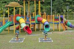 парк оборудования занятности стоковая фотография rf