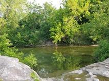Парк общины в Killeen, Техасе стоковые фотографии rf