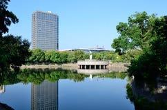 Парк озера лун Стоковые Фотографии RF
