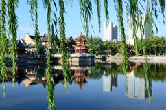 Парк озера лун Стоковое Изображение