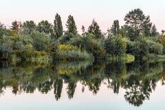 Парк озера форел в Ванкувере, Канаде Стоковые Изображения RF