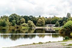 Парк озера форел в Ванкувере, Канаде Стоковое фото RF