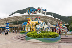 парк океана Hong Kong Стоковые Изображения RF