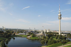 парк Олимпии munich Стоковая Фотография