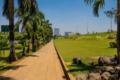 Парк дорожки Стоковое Изображение