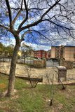 парк осени урбанский Стоковые Изображения