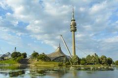 Парк Олимпии Мюнхена Стоковая Фотография