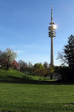 Парк Олимпии, Мюнхен, Бавария, Германия, Olympiapark Стоковые Фотографии RF