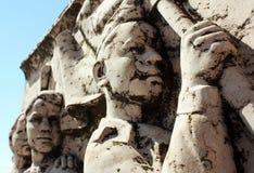 Парк памятного подарка - коммунистический памятник Стоковое Изображение RF