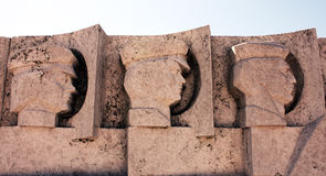 Парк памятного подарка - коммунистический памятник Стоковые Фото