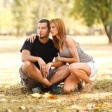 парк пар счастливый Стоковые Изображения RF