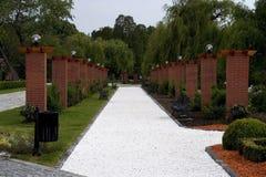 парк переулка Стоковое Изображение