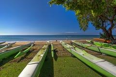 Парк пляжа Hanakao'o или пляж каное, западное побережье Мауи, Гаваи Стоковые Изображения RF