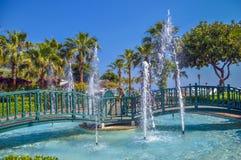 Парк пляжа Kleopatra Стоковые Изображения RF