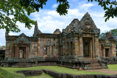 Парк ранга Prasat Phanom исторический Стоковая Фотография