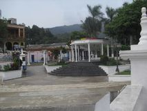 Парк расположенный в Esquipulas, Chiquimula Стоковое Фото
