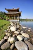 Парк реликвии бассеина Qujiang Стоковое Фото