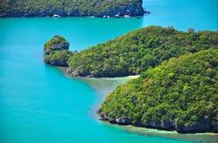 Парк ремня Ang национальный морской, Koh Samui Стоковые Изображения