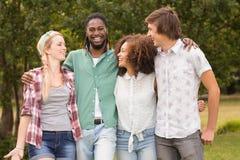 парк друзей счастливый Стоковое Изображение