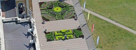 Парк святилища в лишайнике Стоковые Изображения RF