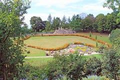 Парк святилища в Obory Стоковые Фото