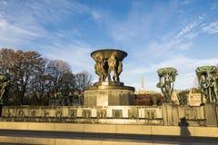 Парк скульптуры Vigeland Осло Стоковая Фотография