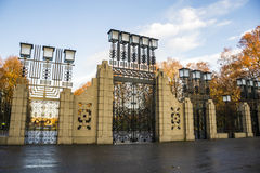 Парк скульптуры Vigeland Осло Стоковое Изображение RF