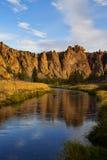 Парк Смита утеса, центральный Орегон. Стоковое Изображение RF