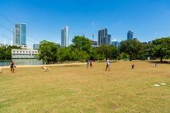 Парк собаки Остина Стоковое Изображение RF