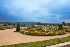 парк солнечный versailles ландшафта Франции дня стоковая фотография rf