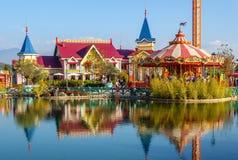 Парк Сочи самый большой и самый изумительный туристский ориентир ориентир для детей в курорте Сочи стоковое фото rf