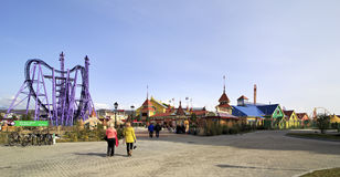 Парк Сочи - тематический парк Стоковая Фотография