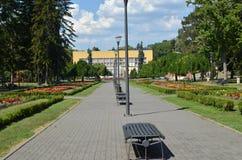 Парк стендов публично Стоковая Фотография RF
