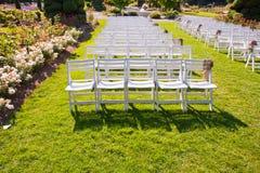 парк стулов Стоковое Изображение RF