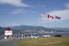 Парк Стэнли, Ванкувер ДО РОЖДЕСТВА ХРИСТОВА, Канада Стоковая Фотография RF