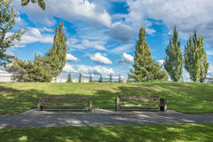 Парк следа реки кедра Стоковые Фото