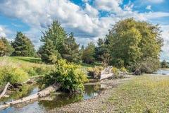 Парк 5 следа реки кедра Стоковая Фотография