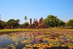 Парк Таиланд Sukhothai исторический, ЮНЕСКО Стоковые Изображения