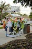 Парк тележки магазина конфеты Стоковое Изображение