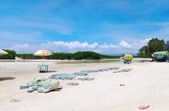 Парк туризма Eco в острове Olango Стоковая Фотография RF