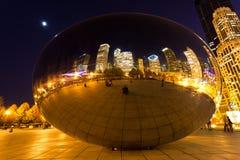 парк тысячелетия chicago городской Стоковое Фото