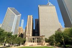 парк тысячелетия chicago Стоковые Изображения RF