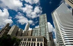 парк тысячелетия chicago illinois Стоковая Фотография
