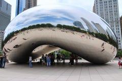 Парк тысячелетия Чикаго Стоковые Изображения