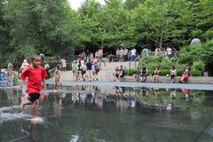 парк тысячелетия chicago Стоковое фото RF